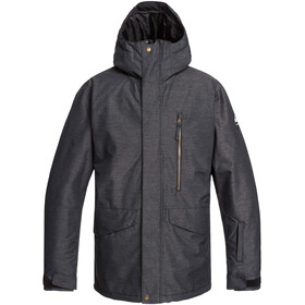 Quiksilver Mission Giacca Uomo, black